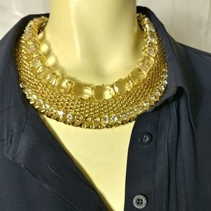 R J. GRAZIANO Runway Statement Collar Necklace